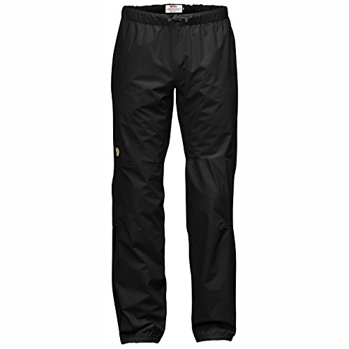 Fjällräven Herren Abisko Eco-Shell Trousers Shellhose, Black, L