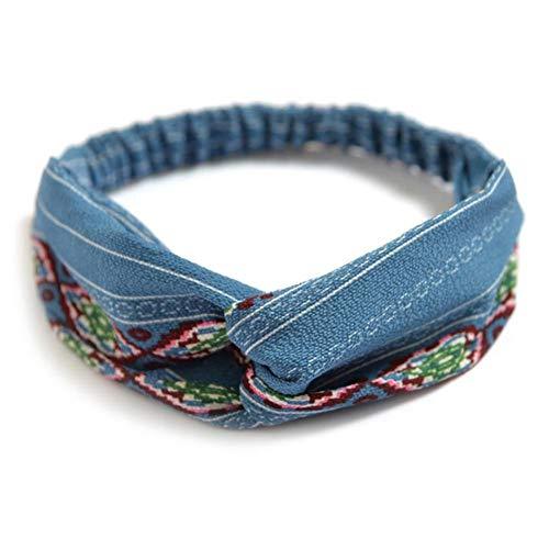 REOSK Hair Rope Damen Haarband Bögen Elastic Headkerc Poly Turban