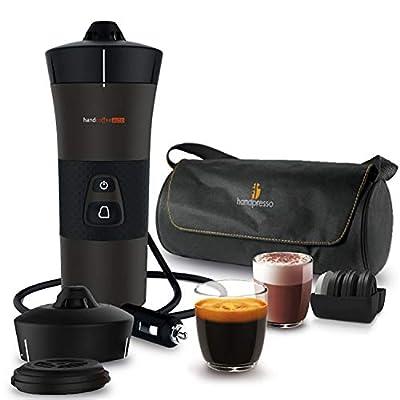Handcoffee 127037 Coffee Machine for The Car, Black