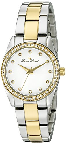 Lucien Piccard Womens Analogue Quartz Watch with Stainless Steel Strap LP-40023-SG-22