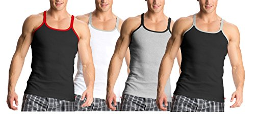 Jockey Metro Fashion Vests - Assorted Pack Of 4 (colors May Vary)