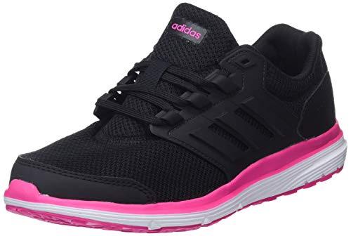 adidas Galaxy 4, Scarpe da Running Donna, Nero (Core Black/Core Black/Shock Pink), 37 1/3 EU