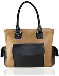 Fargo Cozy PU Leather Women's & Girl's Shoulder Handbag (Beige_FGO-019)