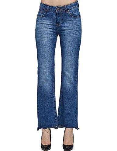 Camii Mia -  Jeans  - flare - Donna Blue 31W x 30L