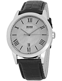 Hugo Boss Herren-Armbanduhr Analog Quarz Leder 1512439