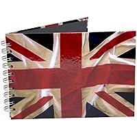 Pink Pig, formato A5orizzontale, bianco Laser, 35foglie, Mondo Bandiere Union (35 Flags)