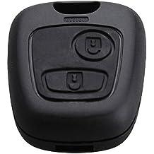 2 Botón Carcasa de mando key Citroen C1 C2 C3 C4 XSARA Picasso Peugeot 107 207 307 407 106 206 306 406