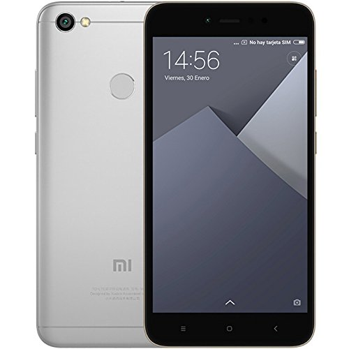 "Xiaomi Redmi Note 5A SIM doble 4G 16GB Gris, Blanco - Smartphone (14 cm (5.5""), 16 GB, 13 MP, Android, 7.0 Nougat, Gris, Blanco)"