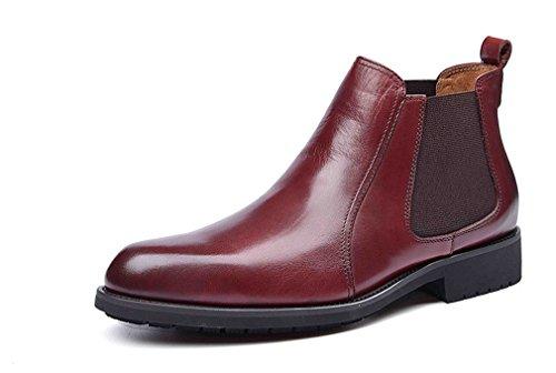 Dilize , Herren Schnürhalbschuhe braun rotbraun (Schuhe Cowboy-wingtip)