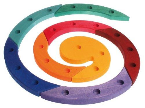 Preisvergleich Produktbild Grimms Spiel Und Holz Design Grimms Geburtstagsspirale bunt