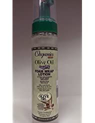 ORGANICS BY AFRICA'S BEST Ab Org Huile d'Olive Foam Wrap Lotion 8.5 Oz 255 ml