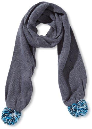 Puma 052467 01 - Sciarpa Fundamentals Finse, colore azzurro, Grigio (grisaille-black-brilliant blue), Taglia unica