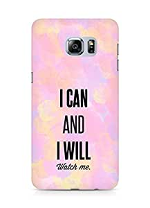 AMEZ i can and i will watch me Back Cover For Samsung Galaxy S6 Edge Plus