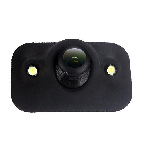 Pumpkin 2 LED Universel Vision Nocturne Voiture Vue Arrière Grand Angle CMOS Caméra de Recul Réglable Etanches Lignes de Marquage Antichoc