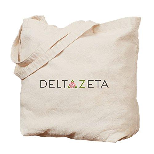 CafePress Delta Zeta Tragetasche, canvas, khaki, M - Delta Sorority Delta Delta Geschenke
