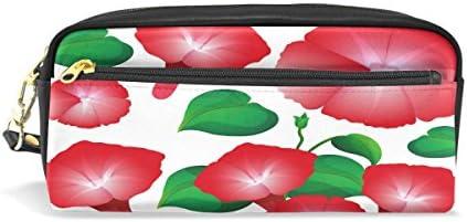 Eslifey Sacoche portable en similicuir avec motif de gloire du matin Rouge B07MHKR26W | La Qualité