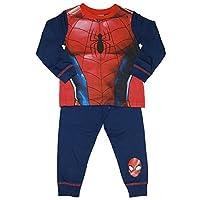 Boys Spiderman Pyjamas Marvel 2 3 4 5 6 7 8 Years