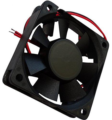 Aerzetix: Gehäuse Lüfter Gehäuselüfter Axial-Lüfter 60x60x15mm 24V 30,58m3 / h 31dBA 3800rpm 28AWG 1.3W C14525 -