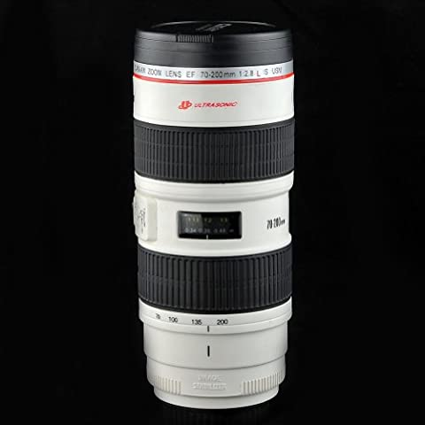 Mango Spot® Camera 70-200mm F2.8 IS Lens Mug/Lens Coffee Cup 17oz with Stainless Steel Mug Interior by MANGO SPOT