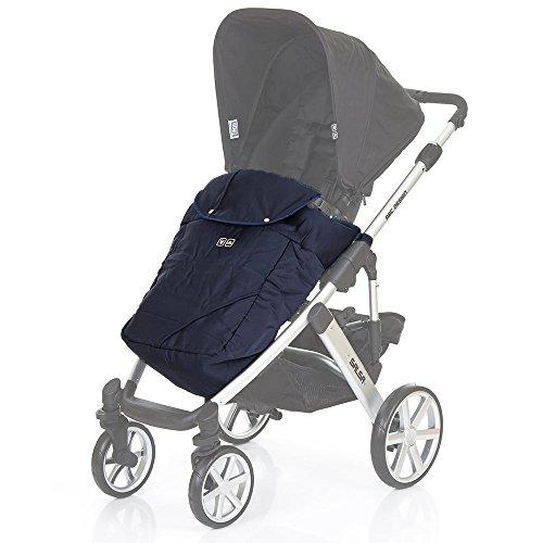 ABC Design Beindecke / Fußdecke für Kinderwagen & Buggy - schützt vor Wind & leichtem Regen - optimal für die Übergangszeit - universal einsetzbar - navy