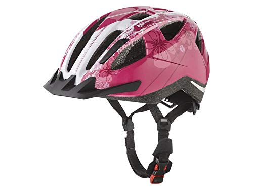 Crivit Kinder Fahrradhelm Helm Kinder Helm Bicycle Helmet 13 Luftkanäle für optimale Luftzirkulation (Pink)