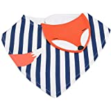 Semme Baby Bibs,Cartoon Animal Kids Drool Bibs Baby Infant Teething Soft Cotton Triangular Towel For Drooling And Teething Baby Boys,Baby Girls Gift Set(#4)