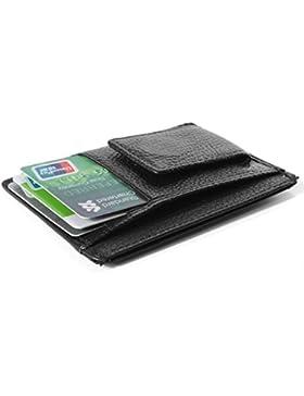 Cartera monedero puerta mágica-Tarjetas de crédito Bolsa Magic Billfold Wallet