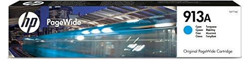 HP 913 Blau Original Druckerpatrone für HP PageWide