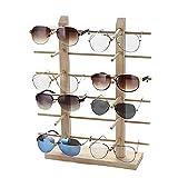 e0a2f2ba05 Justdolife Soporte De Exhibición De Los Vidrios Gafas De Sol Creativas De  Madera con Soporte para Gafas