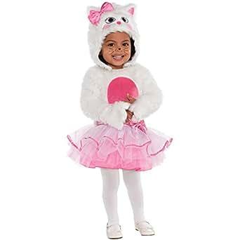 Kleines Kätzchen Katze Kostüm Baby Mädchen Amscan