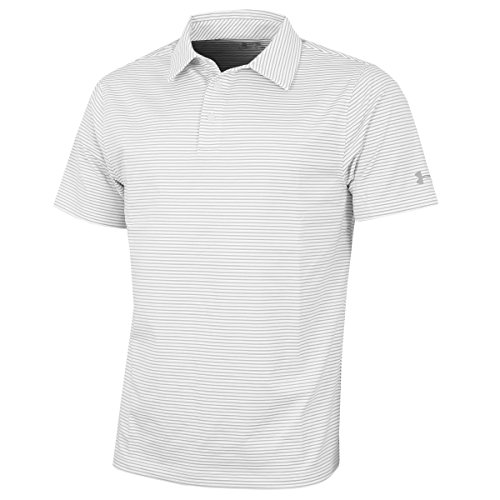Under Armour Mens Crestable Playoff Pencil Stripe Polo
