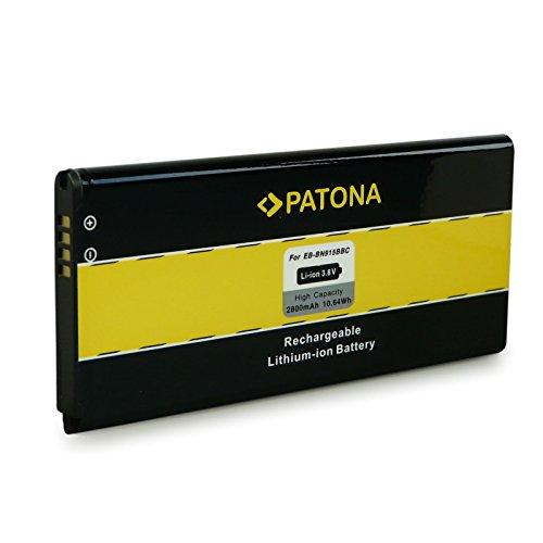 PATONA Akku EB-BN915BBE für Samsung Galaxy Note Edge 4g SM-N915 SM-N9150 SM-N915A SM-N915D SM-N915F SM-N915FY SM-N915G SM-N915J SM-N915K SM-N915L SM-N915P SM-N915R4 SM-N915S SM-N915V SM-N915Y