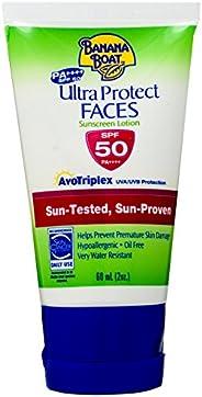 Banana Boat Ultra Protect Faces Sunscreen Lotion SPF50 (60ml)