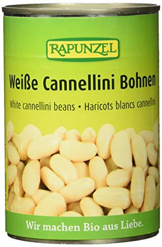 Rapunzel Weiße Cannellini Bohnen in der Dose, 6er Pack (6 x 400 g) - Bio*