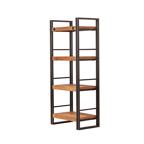 Libreria di design dallo stile industriale, realizzata in metallo e ...
