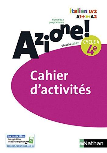 Azione! - Cahier d'activités 4e