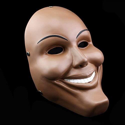 ist der ablassen Rolle spielen aus Polyresin Maske für Halloween Party, Maskenball, Show, Karneval und Bar Human Smiling Face ()
