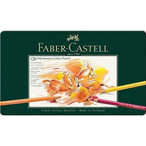 Faber Castell 110011 Künstlerfarbstift POLYCHROMOS Metalletui