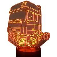 DAF XF 106, Lampada illusione 3D con LED - 7 colori.