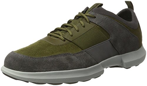 Geox U Traccia B, Baskets Homme Gris (Musk/anthracite)
