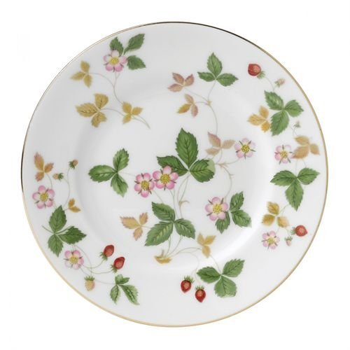 Wedgwood Wild Strawberry Bread and Butter Plate, White by Wedgwood Wedgwood Wild Strawberry