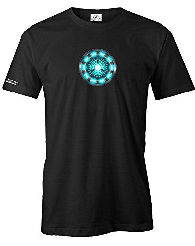 Herren-arc (ARC Reactor - Herren - T-Shirt in Schwarz Gr. L)