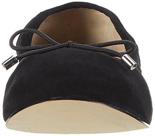 Buffalo 216-6219 Suede, Ballerines Femme Noir (Black 01)