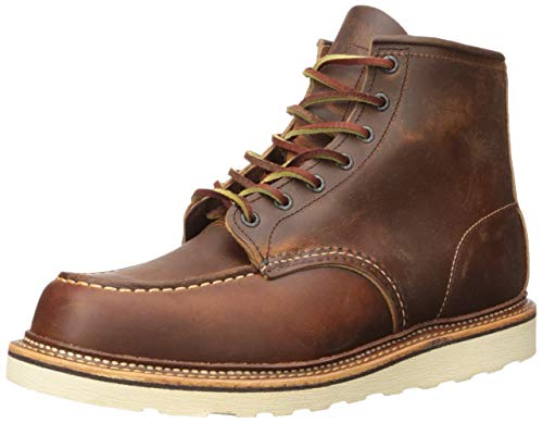 Red Wing 6 Inch Moc Boots - Copper, Braun (Copper), 11 UK - Red Wing Herren-casual-schuhe
