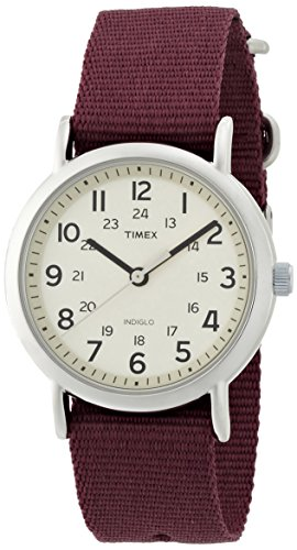 Timex Weekender Indiglo Analog Beige Dial Unisex Watch - T2P235  available at amazon for Rs.1795