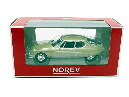 Norev-SM 1970Citroen vehículo en Miniatura, 310701, Beige Metal, (Escala 1/64