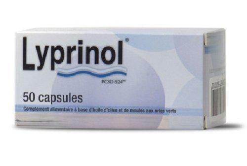 Health Prevent Huile de Poisson Lyprinol 50 Capsules