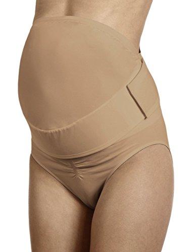 Anita Maternity Damen Bauchbänder BabyBelt, Gr. 44 (Herstellergröße: L), Einfarbig Beige (skin 722) -