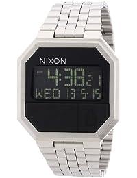 Nixon Unisex-Uhr Digital Quarz mit Edelstahlarmband – A158000-00