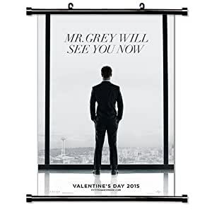 """Fifty Shades of Grey Movie Fabric Wall Scroll Poster (16"""" x 23"""") Inches"""